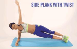 Side Plank With Twist